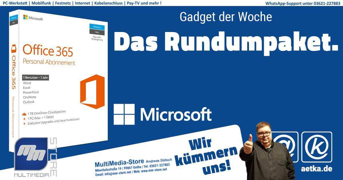 Microsoft Office 365 Multimedia Store Gotha