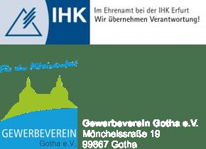 Logo IHK & Gewerbeverein